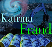 Hurricane Katrina Fraud graphic