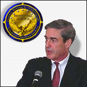 Graphic of Director Mueller and the Counterterrorism seal.