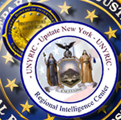 Graphic of the UNYRIC, Counterterrorism, and FBI Seals