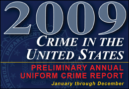 2009 Crime in the United States logo