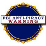 F B I Anti-Piracy Warning Graphic