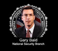 Photograph of Gary Bald National Security Branch