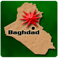 Baghdad Bombing graphic