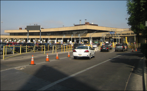 San Ysidro, CA, border crossing