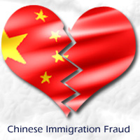 Graphic for Chinese Immigration Fraud