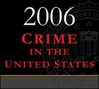 Crime in the U.S. 2006 graphic