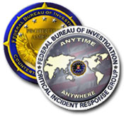 Graphic of the Critical Incident Response Group seal and Counterterrorism Seal
