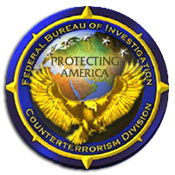 Graphic of Counterterrorism seal and World Globe