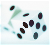 Graphic of dice