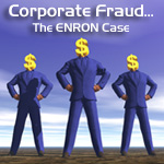 Enron corporate fraud graphic
