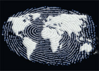 International Fingerprint graphic