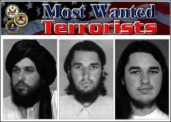 Image of Adam Gadahn from Most Wanted Terrorists poster