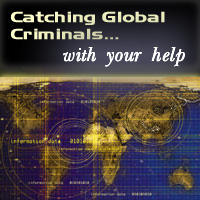 Catching Global Criminals graphic
