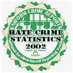 A graphic for the new hate crime statistics.