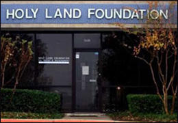 The Holy Land Foundation office in a Dallas suburb.