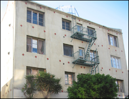 This apartment building was one of several used for prostitution by the Vasquez-Valenzuela family.