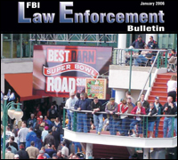 Law Enforcement Bulletin Cover