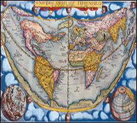 One of the maps that was stolen and later recovered. Courtesy of the Beinecke Library.