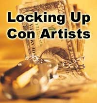 Locking Up Con Artists graphic