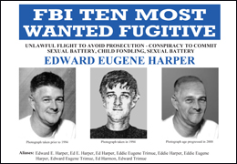 FBI Ten Most Wanted Fugitive-Edward Eugene Harper