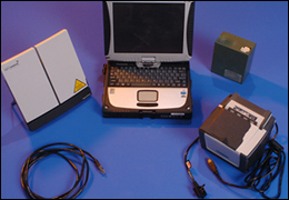The Quick Capture laptop and related equipment