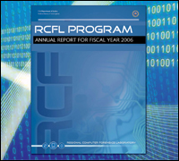 Cover of RCFL annual report