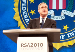 Director Mueller at RSA 2010 Conference