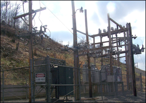 Electrical substations like these are targets for copper thieves