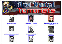 wanted terrorists page