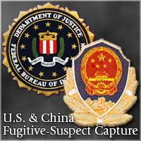 Graphic for U.S. & China fugitive-suspect capture