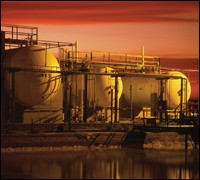 Graphic image of fuel refinery