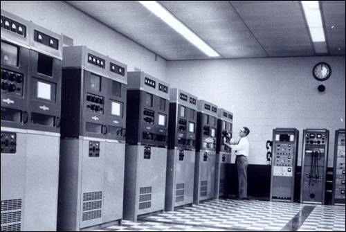 Early NCIC computer banks