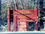 Photograph of Foxstone Park entrance